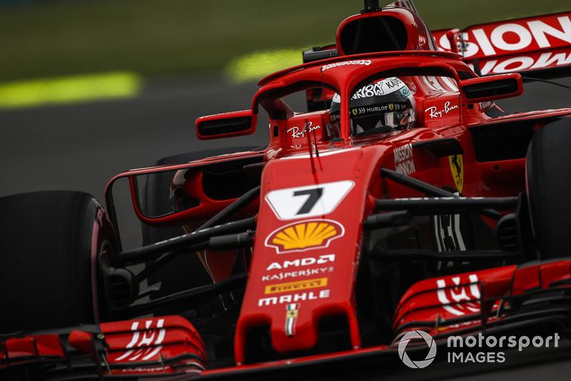 6: Kimi Raikkonen, Ferrari SF71H, 1:15.330