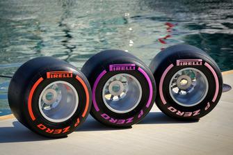 Pirelli F1 Tyre Display