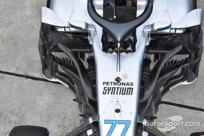 Mercedes AMG F1 W09 Валттері Боттаса