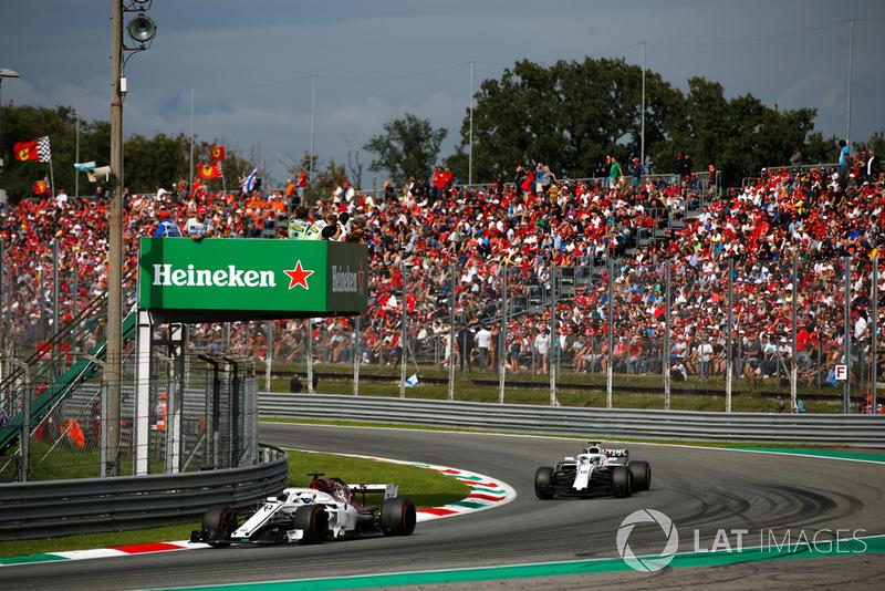 Marcus Ericsson, Alfa Romeo Sauber C37, Lance Stroll, Williams FW41