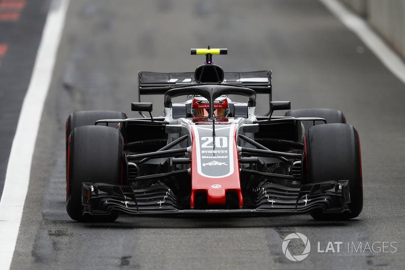 9. Kevin Magnussen, Haas F1 Team VF-18