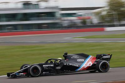 Alpine Academy Silverstone Test