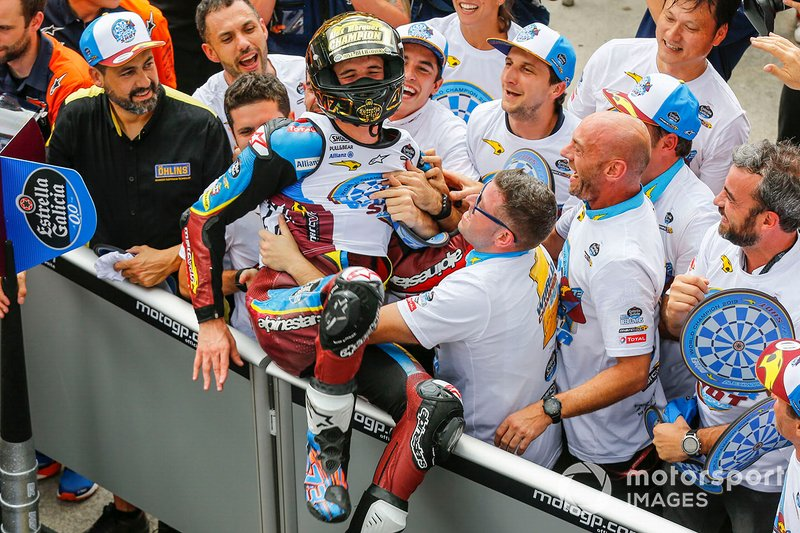 World Champion Alex Marquez, Marc VDS Racing