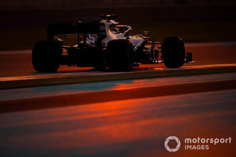 Abu Dhabi December Test