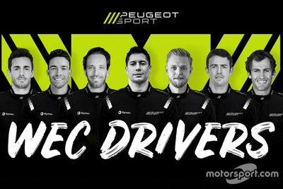 Peugeot drivers unveil