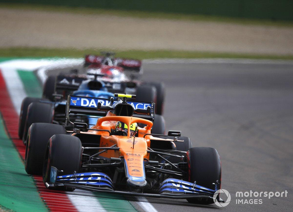 Lando Norris, McLaren MCL 35M