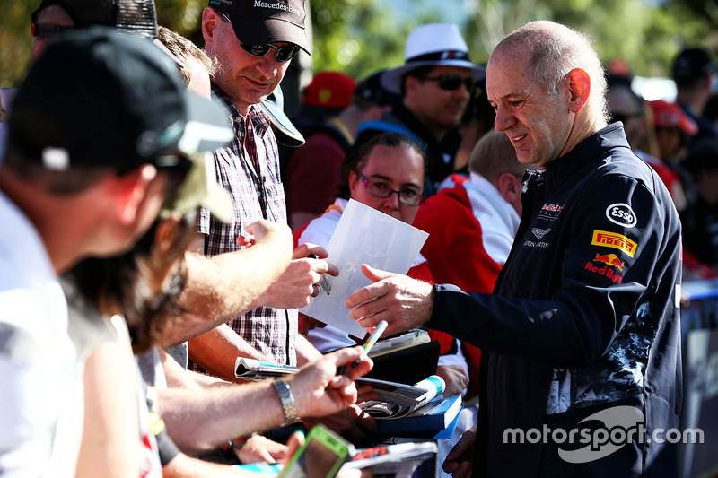 Adrian Newey, Red Bull Racing, Cheftechniker