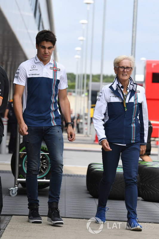 Lance Stroll, Williams, Annie Bradshaw, Williams-Pressesprecherin