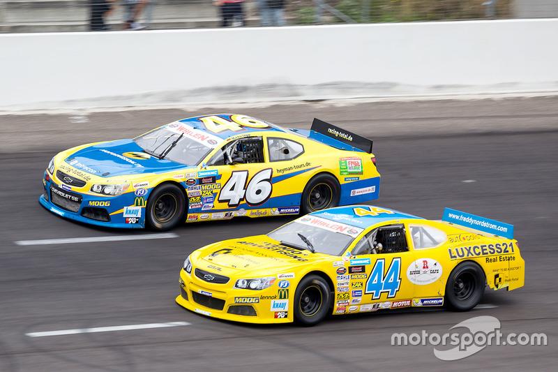 Freddy Nordstrom, CAAL Racing Chevrolet und Marko Stipp, Team Racing Total Chevrolet