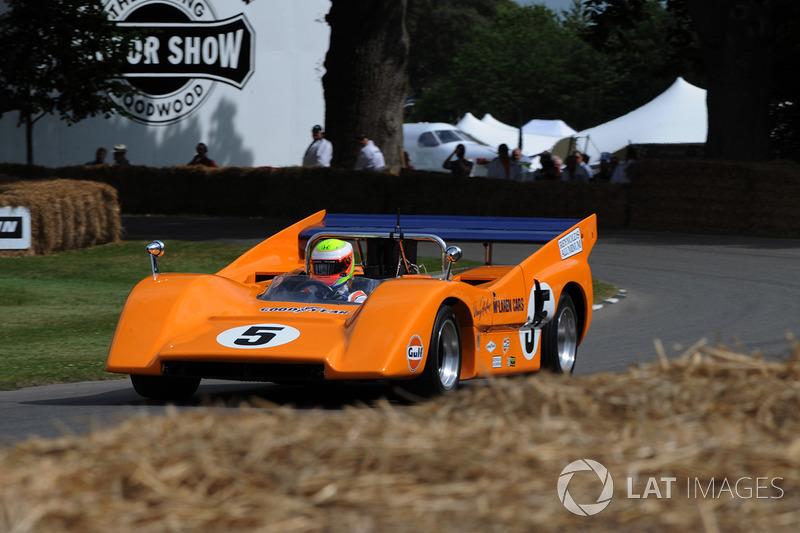 Oliver Turvey McLaren M8F