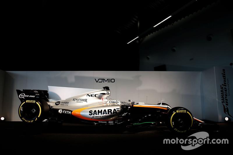 印度力量 VJM10 赛车