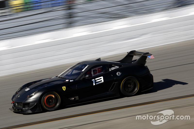 Ferrari 599XX acción