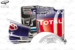 Red Bull RB10 rear wing