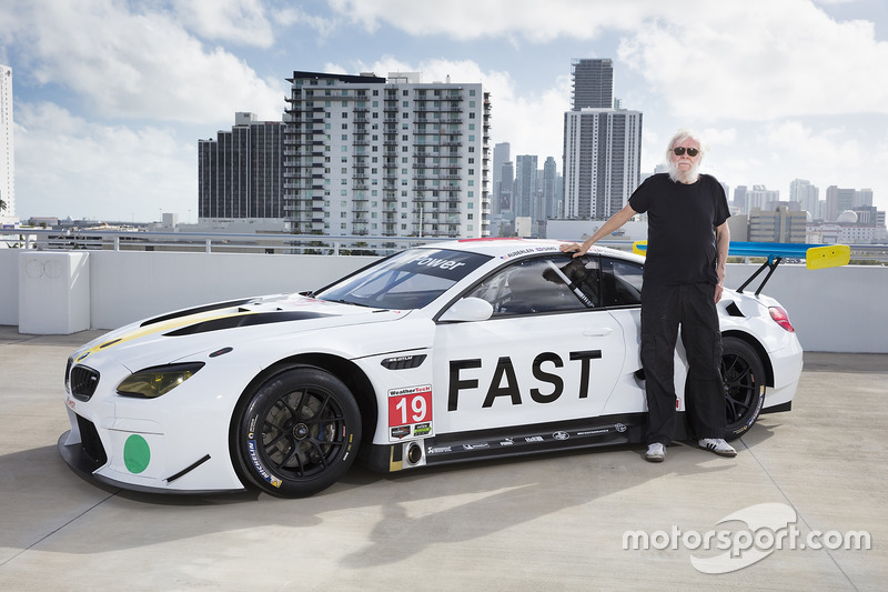 BMW M6 GTLM Art Car de John Baldessari