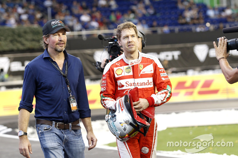 Fredrik Johnsson, RoC con Sebastian Vettel