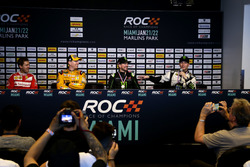 Press Conference with Sebastian Vettel, Kyle Busch, Kurt Busch and Petter Solberg