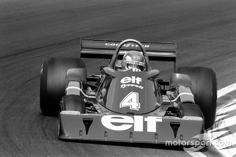 Патрік Депайе, Tyrrell P34-Ford
