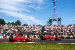 Alain Prost, Ferrari 642, Jean Alesi, Ferrari 642