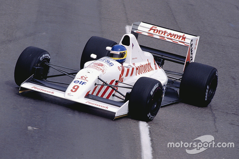 Мікеле Альборето, Arrows A11B Ford