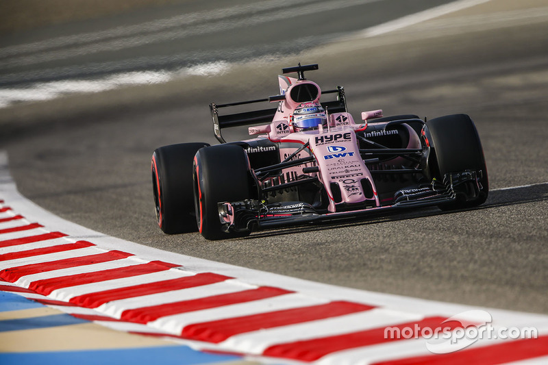 Sergio Pérez, Force India VJM10