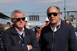Marcello Lotti and Gerhard Berger