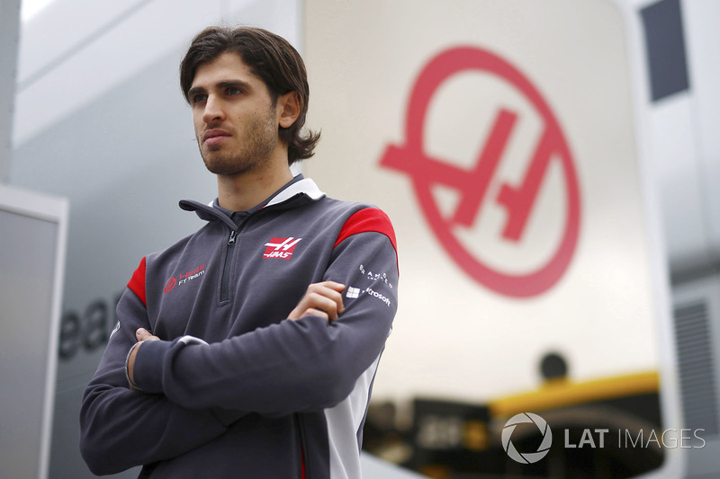 Antonio Giovinazzi, Haas F1 Team piloto de prueba