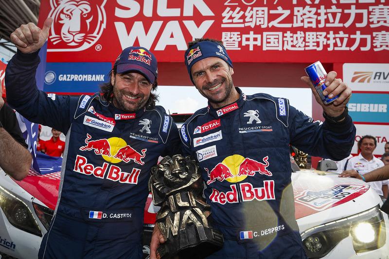 1. Auto-Wertung: Cyril Despres, David Castera, Peugeot Sport