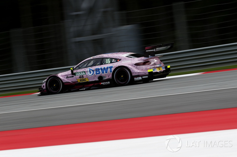 Ausfall: Edoardo Mortara, Mercedes-AMG Team HWA, Mercedes-AMG C63 DTM