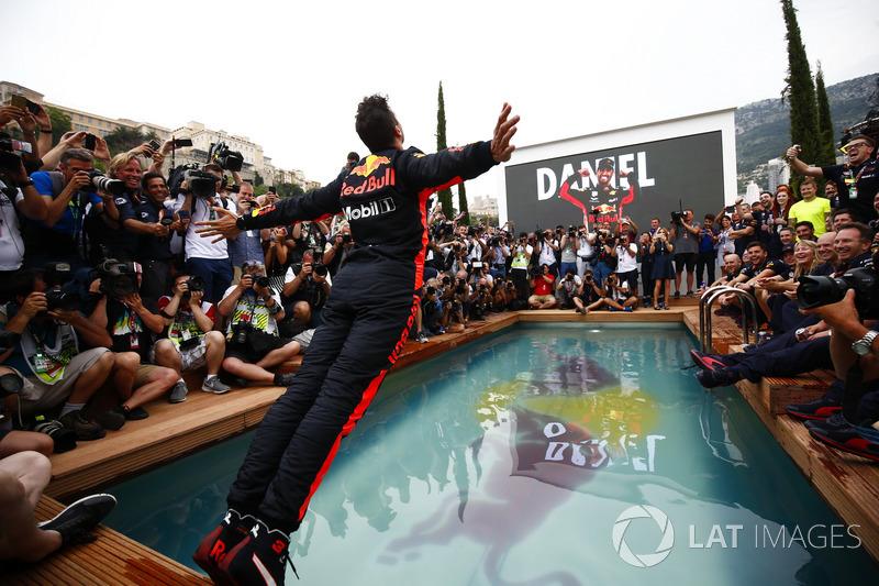 Победитель Даниэль Рикардо, Red Bull Racing