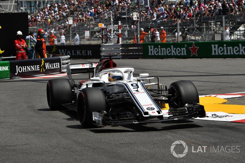 16: Маркус Эрикссон, Sauber C37 – 1:13.265