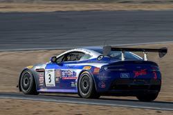 #3 Aston Martin GT4: Craig Lyons, Kris Wilson, Thomas Merril