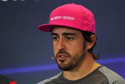 Fernando Alonso, McLaren en conferencia de prensa