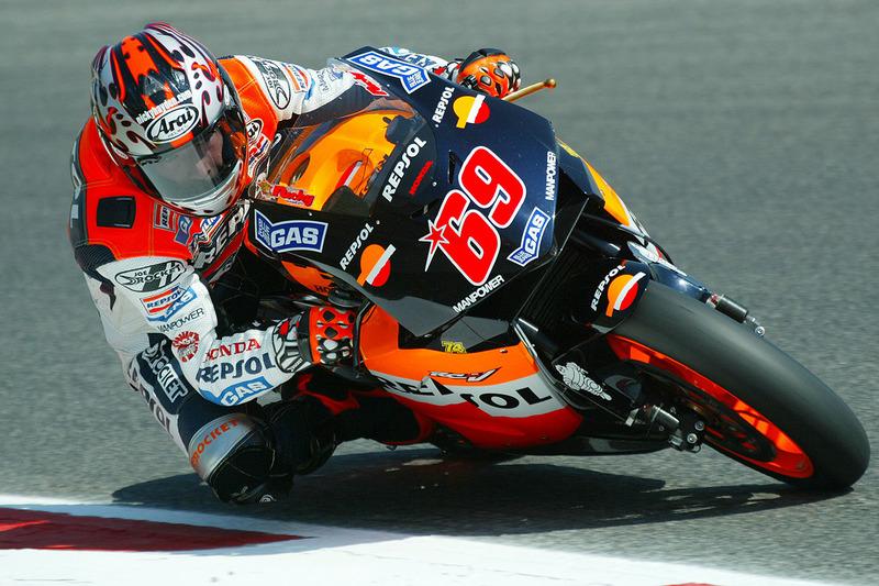 2003 - Nicky Hayden : 7e (Grand Prix du Japon)