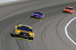 Matt Kenseth, Joe Gibbs Racing Toyota, Denny Hamlin, Joe Gibbs Racing Toyota and Daniel Suarez, Joe Gibbs Racing Toyota