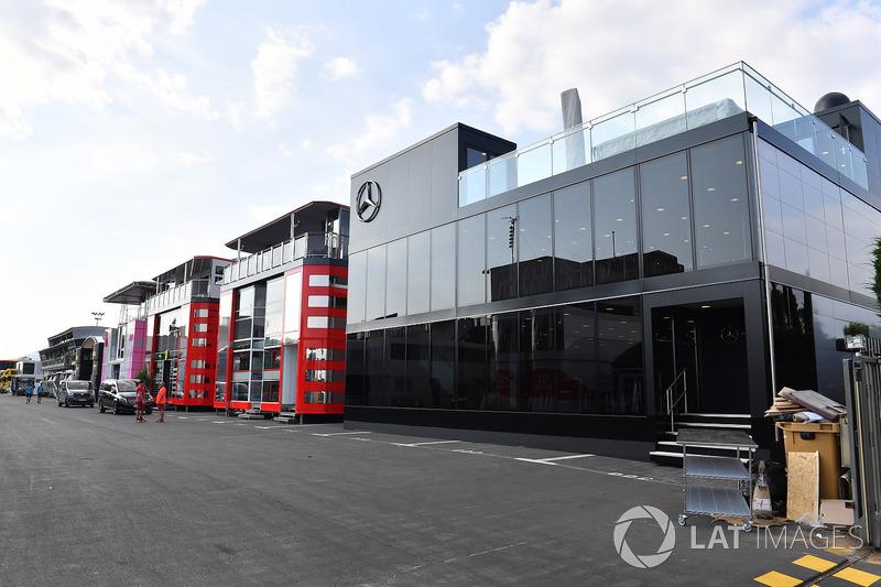 Motorhome Mercedes AMG F1