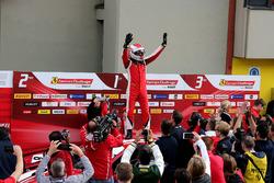 Il vincitore della gara #8 Octane 126 Ferrari 488: Fabio Leimer