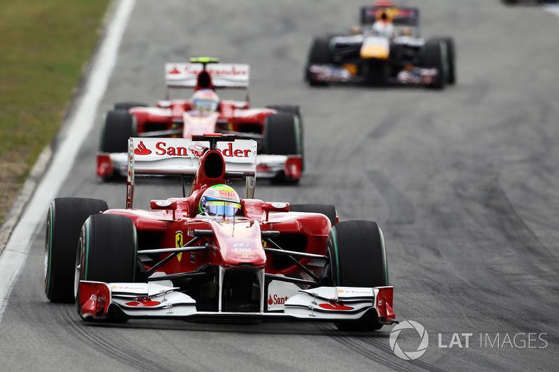 2010: Ferrari F10 - 144 pontos, sexto colocado no Mundial de Pilotos