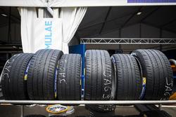 Des pneus Michelin dans la pitlane