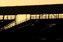 Gün batımında Silverstone