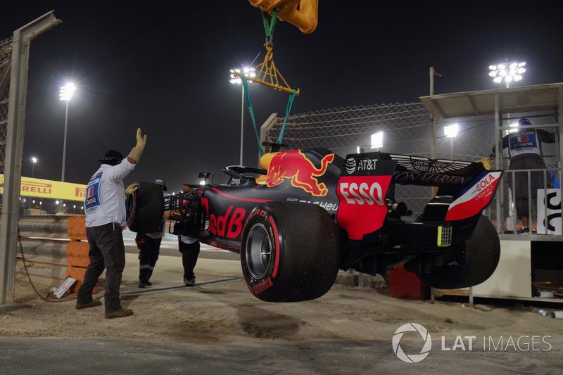 Mobil Daniel Ricciardo, Red Bull Racing RB14