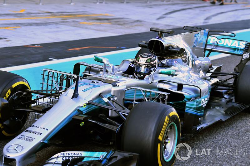 Валттері Боттас, Mercedes-Benz F1 W08  з аеро-сенсорами