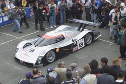 #9 Audi Sport UK, Audi R8C, Stefan Johansson, Stéphane Ortelli, Christian Abt