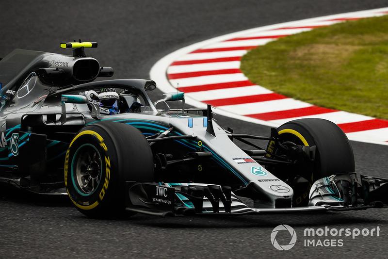 2. Valtteri Bottas, Mercedes AMG F1 W09 EQ Power+