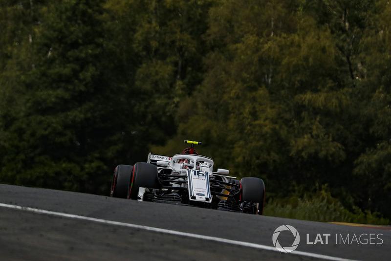 18 місце — Шарль Леклер, Sauber. Умовний бал — 4,59