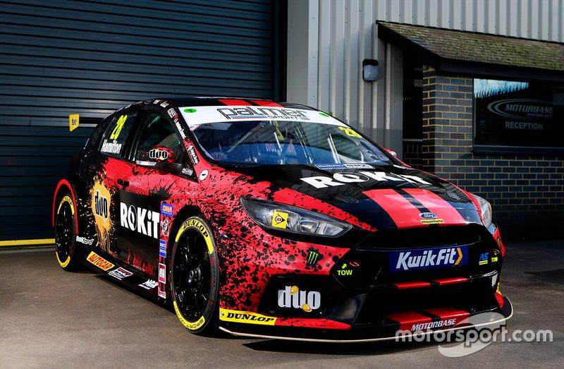 Motorbase Performance Ford Focus RS de Nic Hamilton