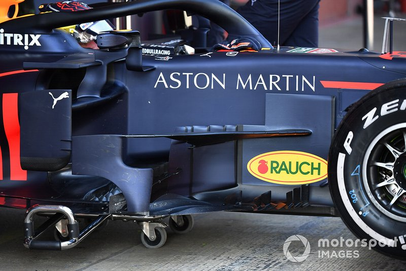 Red Bull Racing RB15 bargeboards