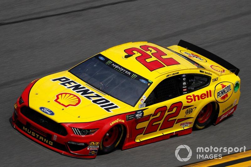 4. Joey Logano, Team Penske, Ford Mustang Shell Pennzoil