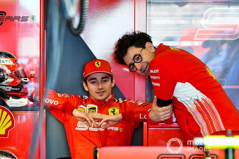 Шарль Леклер, Ferrari, руководитель Ferrari Маттиа Бинотто