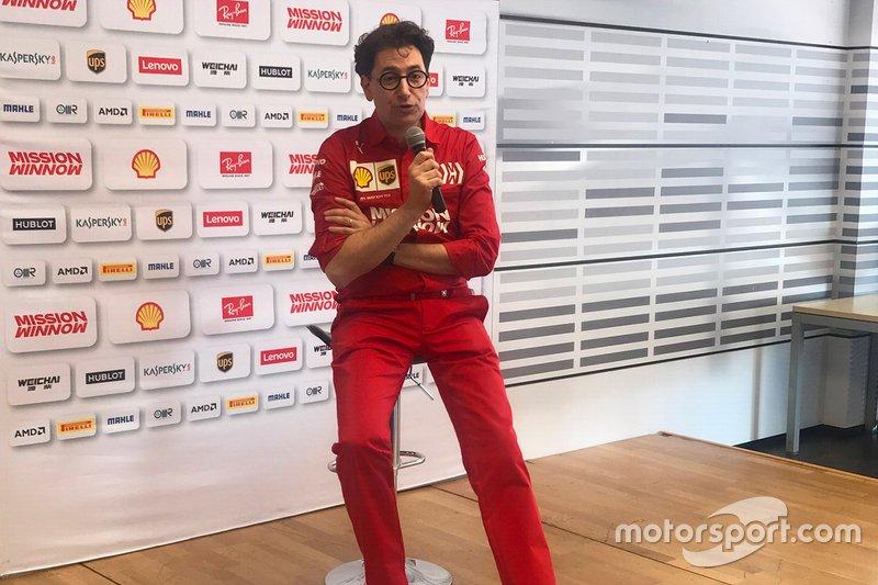 Маттіа Бінотто, керівник Ferrari
