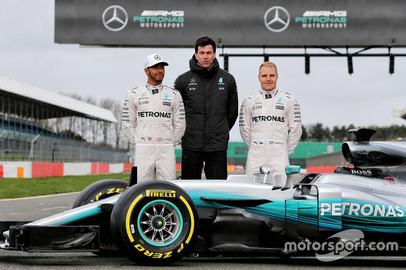 Formula 1 Fotogallery: Mercedes W08 Hybrid